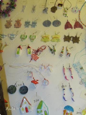 В Челябинске 18-19 декабря в Доме архитектора проходила Новогодняя 10-я выставка-продажа изделий ручной работы. Небольшой фоторепортаж. Первые 4 фотографии куклы от Ирины Викторовны Перебейнос фото 5