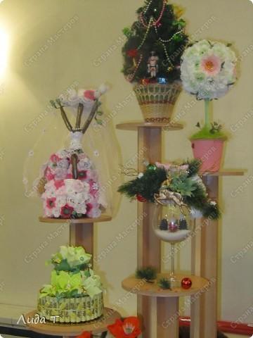 В Челябинске 18-19 декабря в Доме архитектора проходила Новогодняя 10-я выставка-продажа изделий ручной работы. Небольшой фоторепортаж. Первые 4 фотографии куклы от Ирины Викторовны Перебейнос фото 18