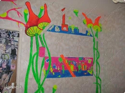 Роспись стен фото 4