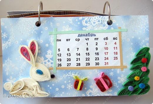 Уже давно задумала сделать календарь - и вот моя мечта осуществилась! Первая страничка - Январь. фото 12