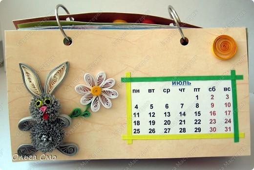 Уже давно задумала сделать календарь - и вот моя мечта осуществилась! Первая страничка - Январь. фото 7