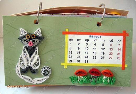 Уже давно задумала сделать календарь - и вот моя мечта осуществилась! Первая страничка - Январь. фото 8