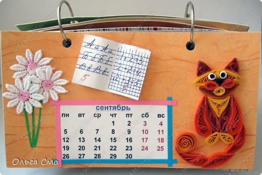 Уже давно задумала сделать календарь - и вот моя мечта осуществилась! Первая страничка - Январь. фото 9