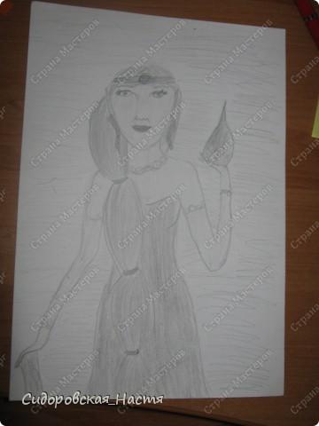 Мой летний рисунок.