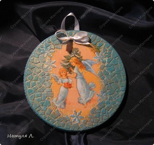 Ангел №2, №3 (панно на гипсе) фото 5