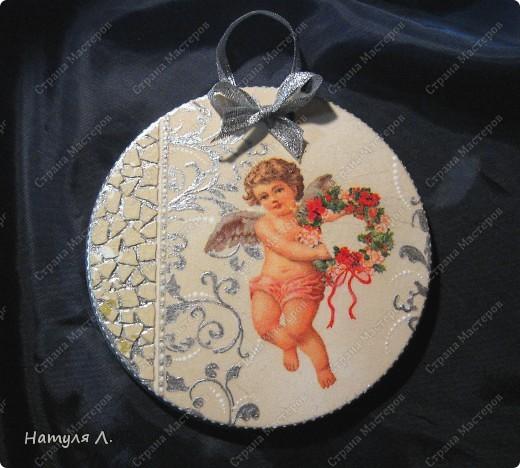 Ангел №2, №3 (панно на гипсе) фото 1