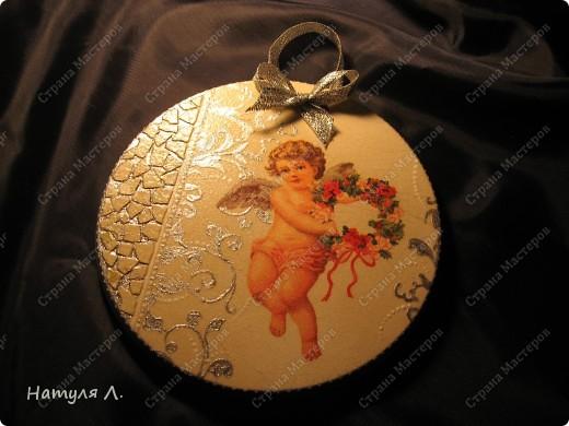 Ангел №2, №3 (панно на гипсе) фото 4