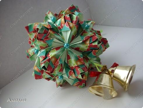 Рождественская кусудама Lucky Spike фото 1