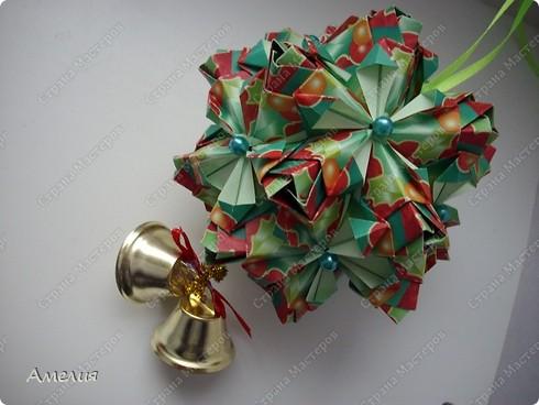 Рождественская кусудама Lucky Spike фото 2