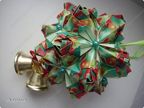 Рождественская кусудама Lucky Spike фото 3