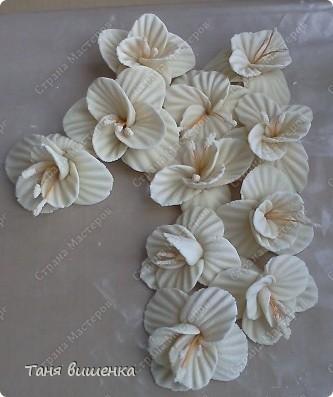 вот они мои новые гладиолусы,свои первые я лепила очень давно,только они были в холодном цвете,а эти напоминают лето... фото 5