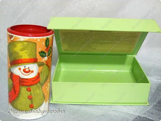 Коробушки для мелочей для работы, очень полезно и красиво. Баночка от детского чая, коробочка от масок для лица на магнитике.  фото 3