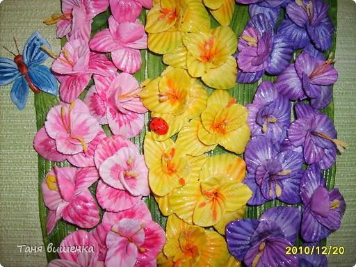 вот они мои новые гладиолусы,свои первые я лепила очень давно,только они были в холодном цвете,а эти напоминают лето... фото 3
