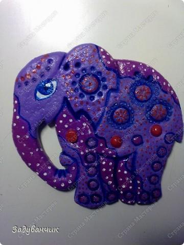 Этот слоник из глины фото 3