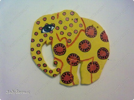 Этот слоник из глины фото 1