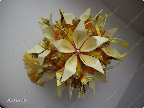 Кусудама Музыкальная Passiflora фото 1