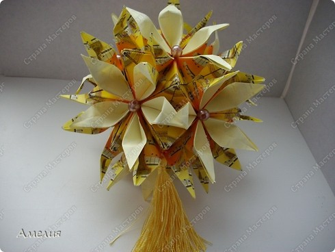 Кусудама Музыкальная Passiflora фото 2