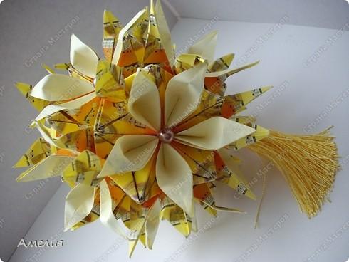 Кусудама Музыкальная Passiflora фото 3