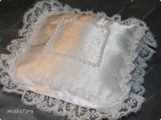 Хочу поделиться с Вами тем,как я шила такую подушечку,может кому-то пригодиться фото 5