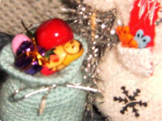 Вот такой снеговик связала я на конкурс. фото 5