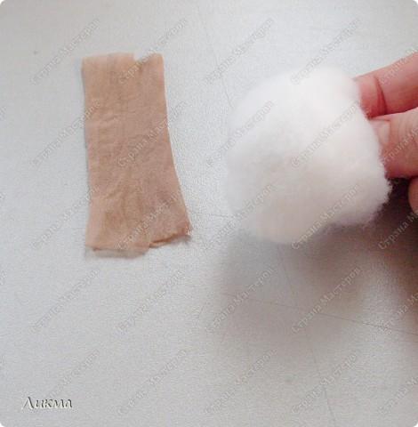 В итоге куколка у нас получится ростиком с ладошку:) фото 3