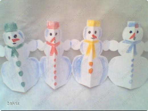 Снеговички в лесу. фото 3