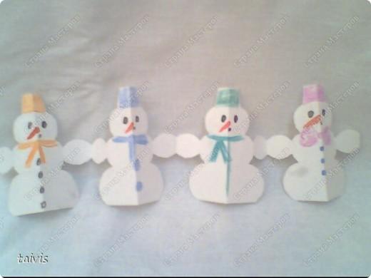 Снеговички в лесу. фото 4