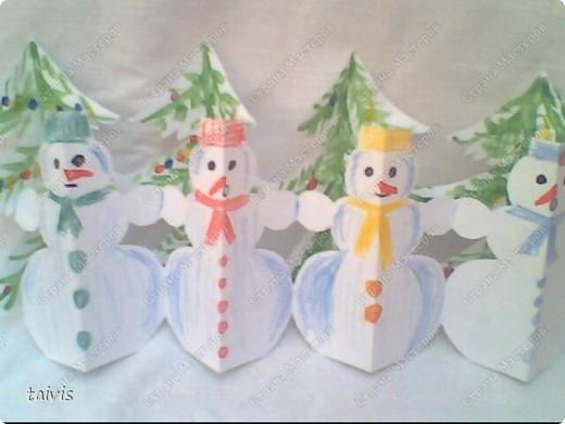 Снеговички в лесу. фото 9