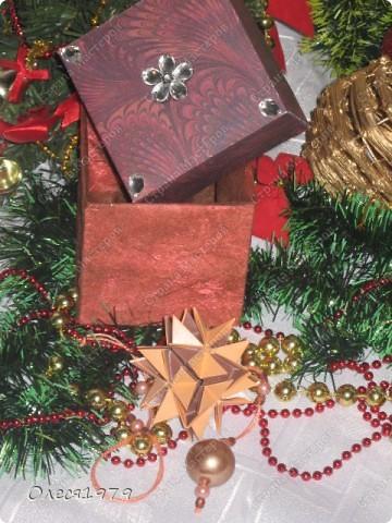 Новогодние кусудамы - часть 1 фото 6