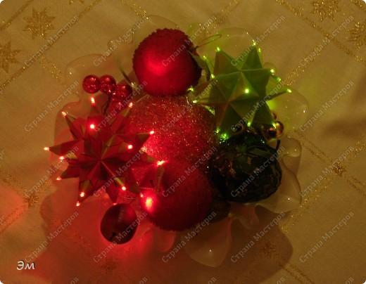 вот такие появились на свет новогодние кусудамы фото 2