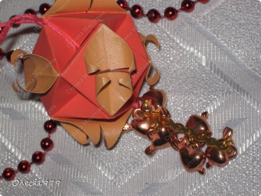 Новогодние кусудамы - часть 1 фото 8