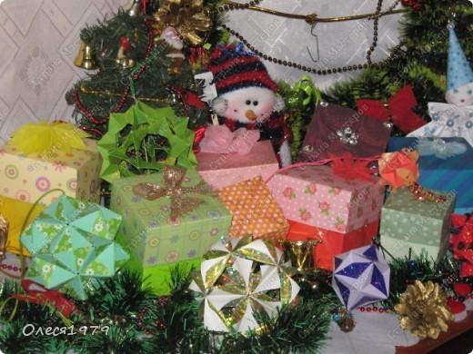 Новогодние кусудамы - часть 1 фото 1