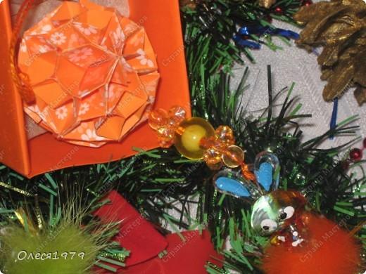 Новогодние кусудамы - часть 1 фото 10