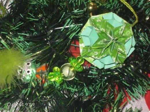 Новогодние кусудамы - часть 1 фото 11