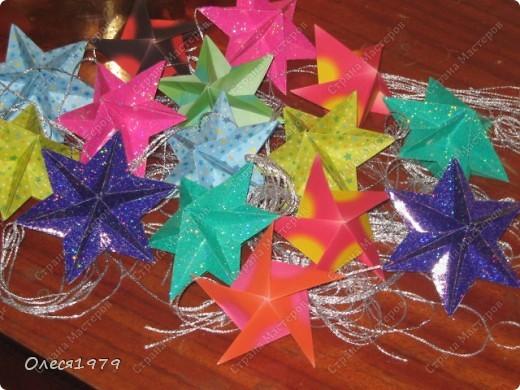 Новогодние кусудамы - часть 1 фото 17