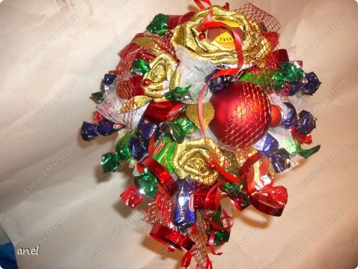 Красиво подарить конфеты-просто!!! фото 1