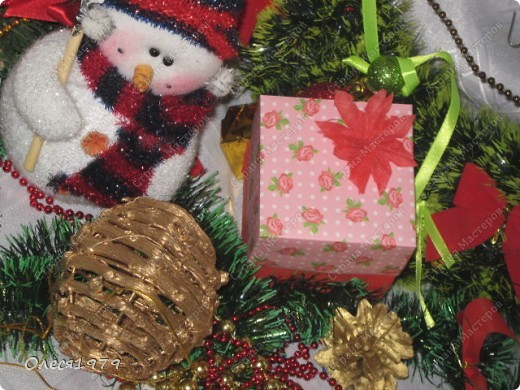 Новогодние кусудамы - часть 2 фото 4