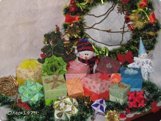 Новогодние кусудамы - часть 2 фото 1