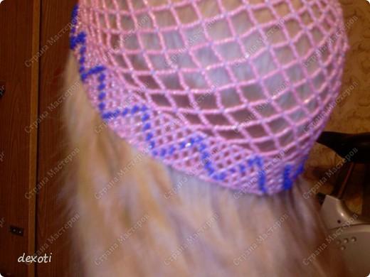 Шапочка из бисера. фото 1