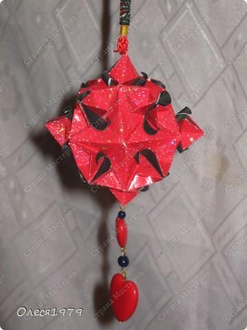 Новогодние кусудамы - часть 2 фото 15