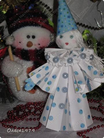 Новогодние кусудамы - часть 2 фото 21