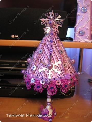 Как же без фиолетовенькой ёлки встречать Новый год? фото 1