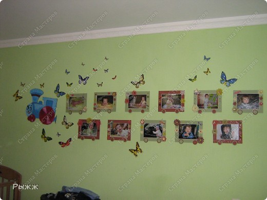 Вот такой паравозик теперь живет в комнате у сынишки! фото 2