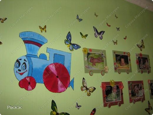 Вот такой паравозик теперь живет в комнате у сынишки! фото 1