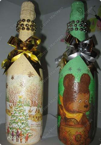 Тарелочки и бутылочки на НГ фото 4