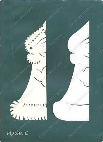 Такую Снегурочку можно прикрепить к окну или зеркалу. фото 2