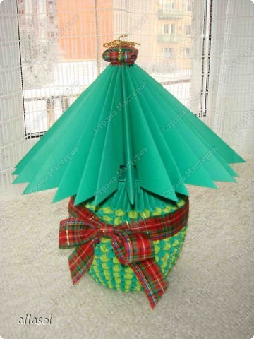 Елочка в подарок.  фото 1