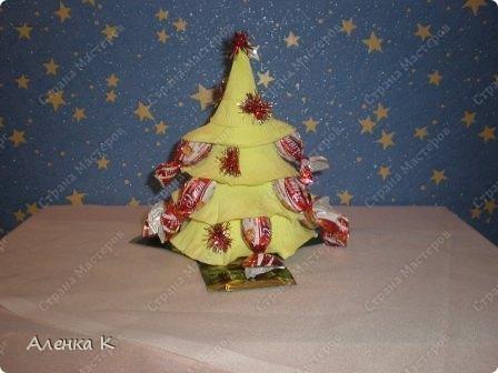 Конфетные елочки (уже подарены). фото 8
