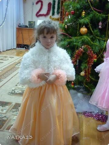 вот такое платье сшила для дочки за одну ночь.дочь сказала,что она как принцесса.платье шила специально по болеро,а она не захотела одевать его. фото 3