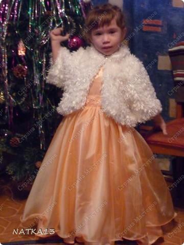вот такое платье сшила для дочки за одну ночь.дочь сказала,что она как принцесса.платье шила специально по болеро,а она не захотела одевать его. фото 2